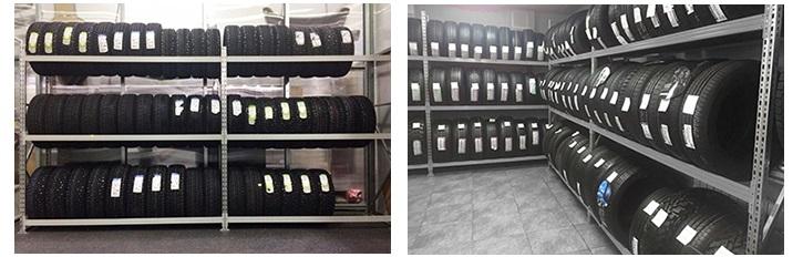 стеллажи для колёс шин хранения в гараже
